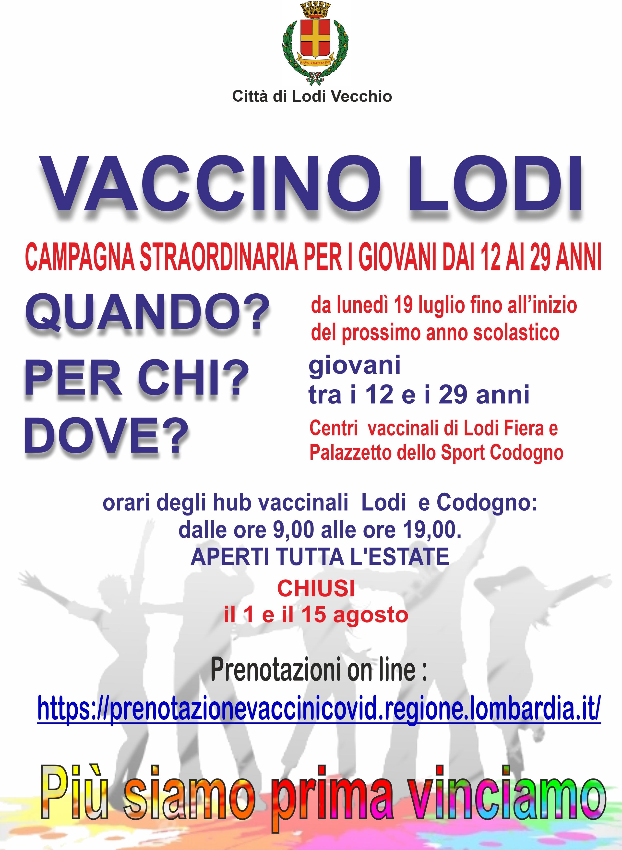 vaccini giovani