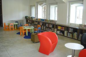 sala lettura ragazzi