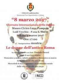 Donne nell'antica roma