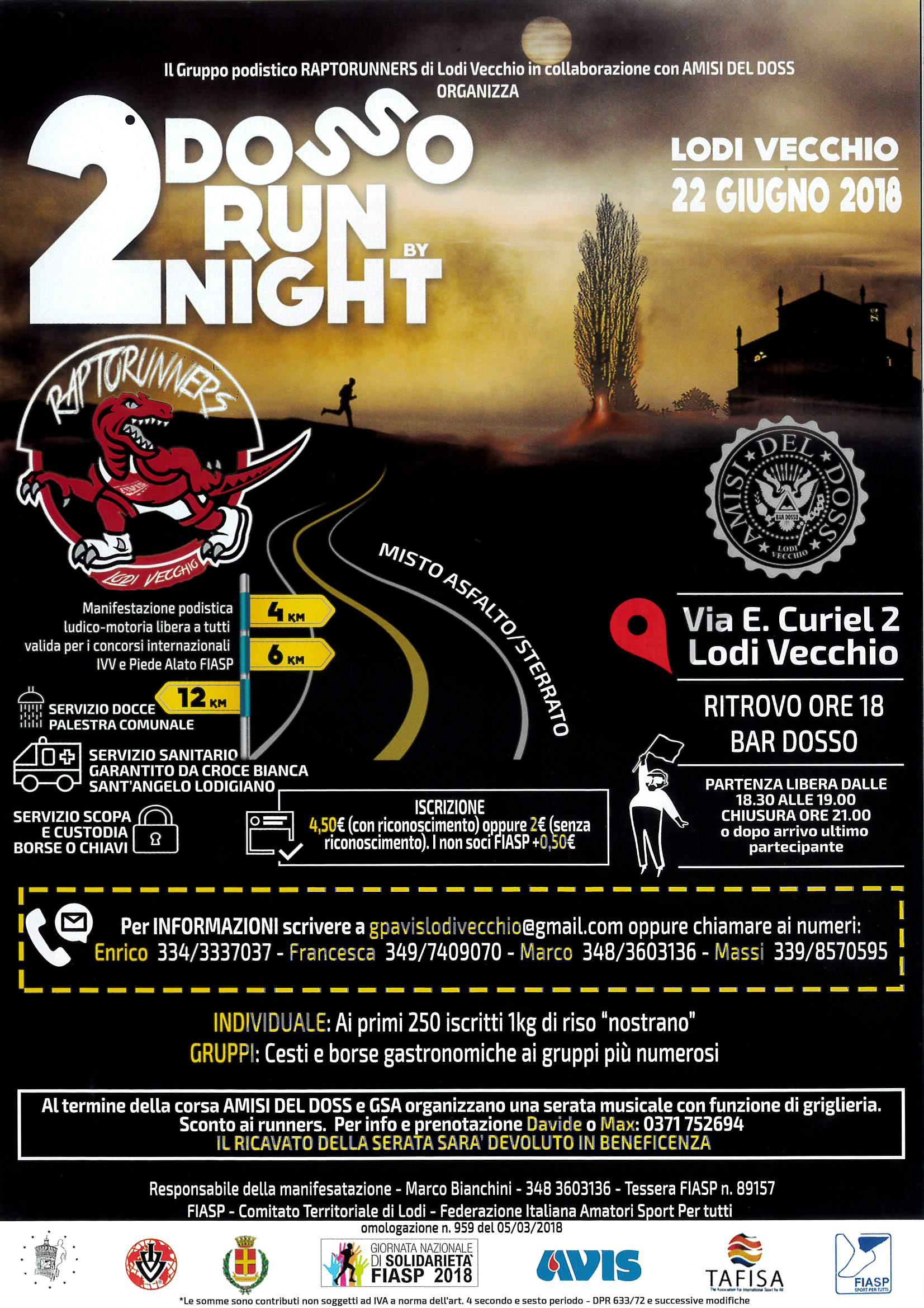 Dosso run night