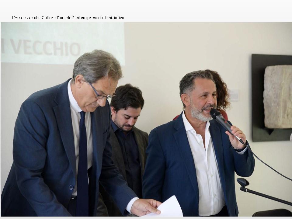 Il ritorno dell'Elmo - L'Assessore della Cultura Daniele Fabiano presenta l'iniziativa
