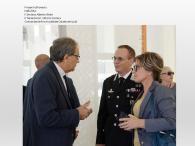 Nella foto il Sindaco Alberto vitale e il Ten. Col. Vittorio Carrara Comandante Provinciale dei Carabinieri di Lodi