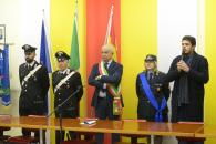 4 novembre 2019- Il Sindaco Lino Osvaldo Felissari e l'Assessore all'Istruzione Debora Cremonesi, oggi 4 novembre sono stati in visita alla  scuola primaria di Lodi Vecchio   per la  presentazione dei lavori realizzati dagli alunni delle classi quarte.