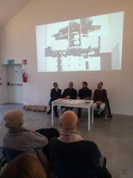 Presentazione trittico barbarossa Civitas Laus Museo Laus Pompeia