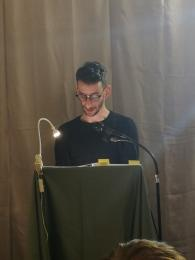 """27 gennaio presso il Caffè delle Arti -Lodi Maratona di lettura di brani dal libro di Primo Levi """"Se questo è un uomo"""" organizzata da Unitre di Lodi. Partecipa il Consigliere Mattia  Maffi"""